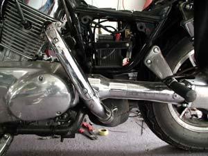 Полицейские Залесовского района за угон мотоцикла задержали молодого человека