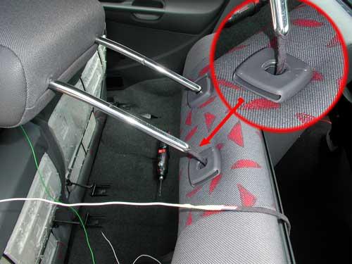 Секретку в авто своими руками