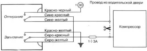Схема центрального замка ауди фото 263